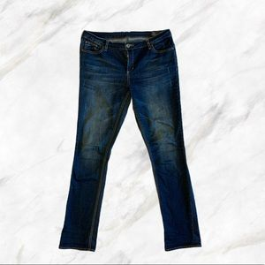 Buffalo Blu | Straight Stretch Blue Jeans